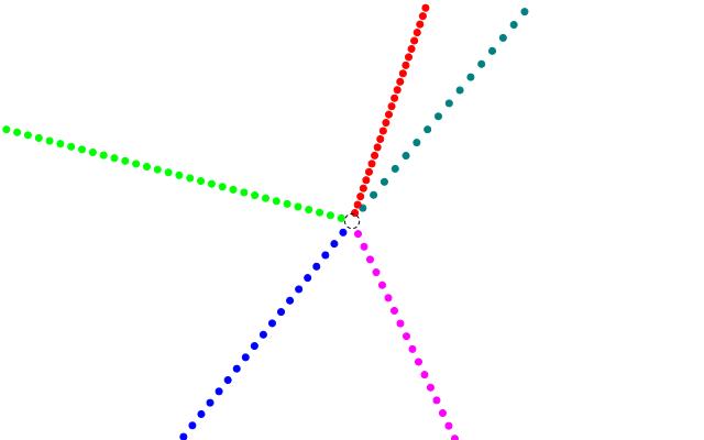 Explosion aus der Sicht eines ruhenden Bezugssystem image source